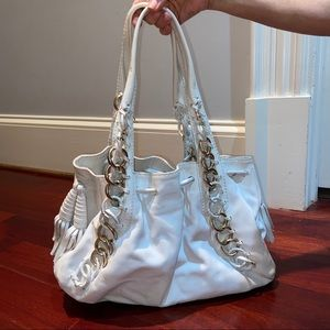 MICHAEL KORS White Purse with Insert